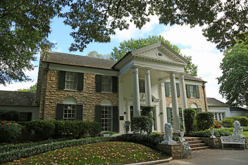 Is there a more famous music landmark than Graceland? Fans of Elvis should definitely visit this wonderful place and pay their respects to The King of Rock and Roll.