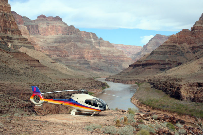 If you do one thing while you're in Las Vegas, make it a trip out to see the Grand Canyon and Hoover Dam. If you and your friends are feeling a bit flush from your wins at the casino, splash out on a helicopter ride over them.