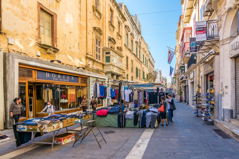 On Sunday mornings, Valletta is perfect for picking up interesting antiques, handmade tableware, or some Maltese treats.