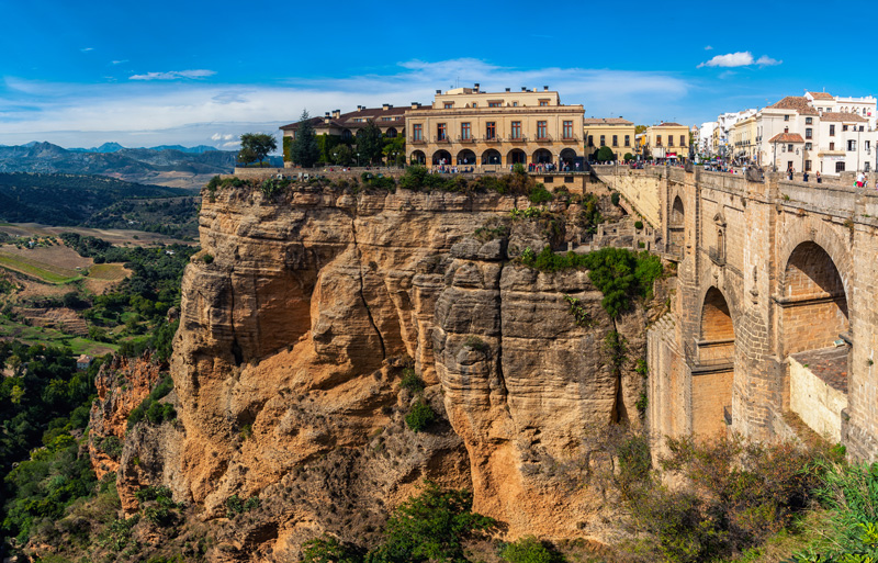 Saving the best until last, spectacular Ronda is the gem in the crown of the white towns, perched high up on a rocky gorge that splits the town in two.