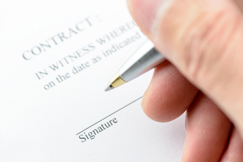 If you are unsure about anything in your contract, don't sign it. Consult with someone with legal expertise who can explain everything to you, clarify the terms of your contract and what they mean to you, and address any doubts you may have.