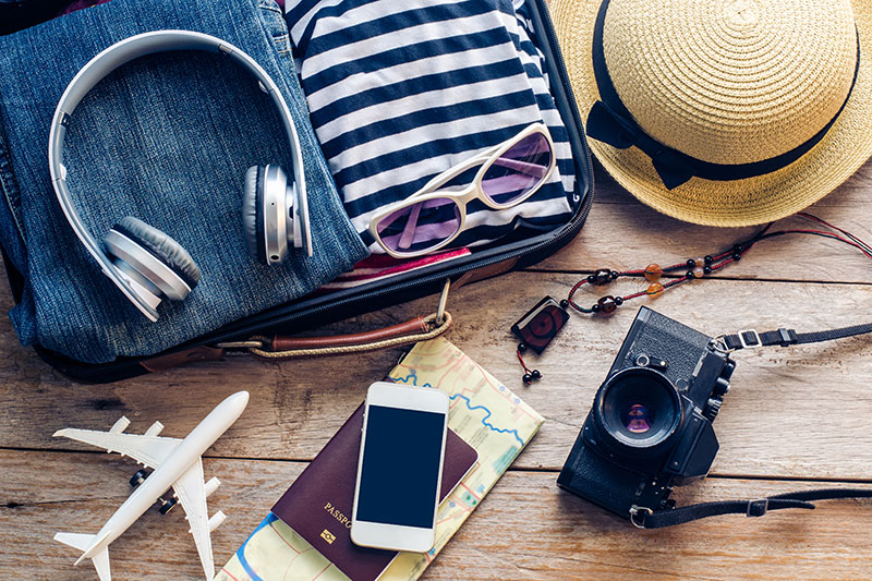 It's as well to put your essential holiday gadgets on your travel checklist to ensure you don't leave any behind - they can be expensive to replace once you get out on holiday!