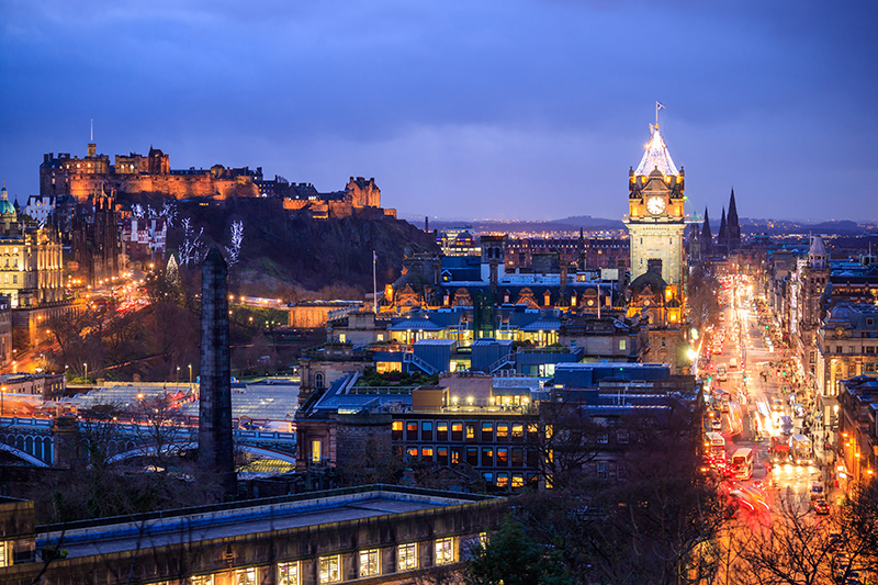 Edinburgh is a beautiful city, so make sure you have time for some sightseeing - as well as the fun of the Fringe Festival.