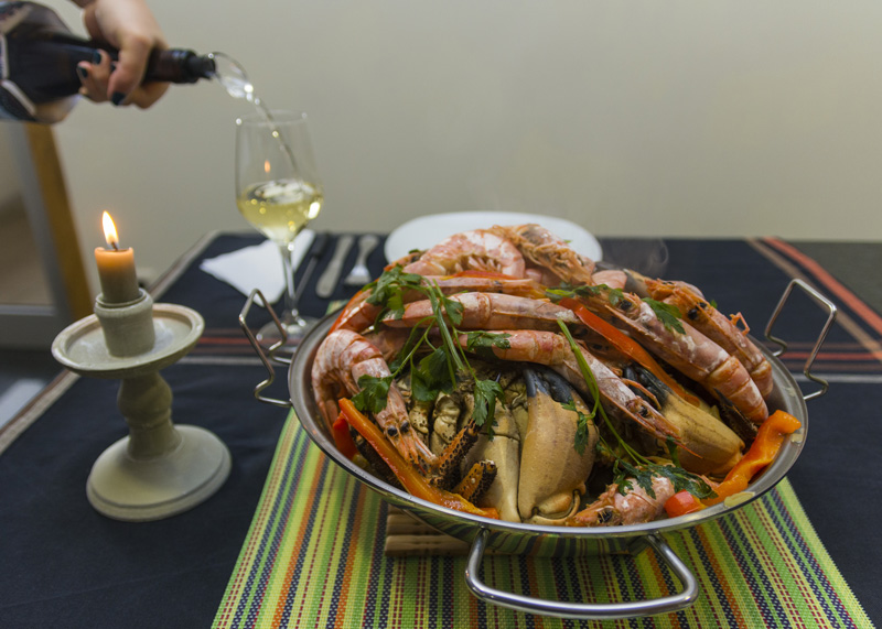 Seafood will no doubt be on every menu in Portugal, and with good reason. Make sure you order a big portion of your favourite dish to keep you going in between all the sightseeing.