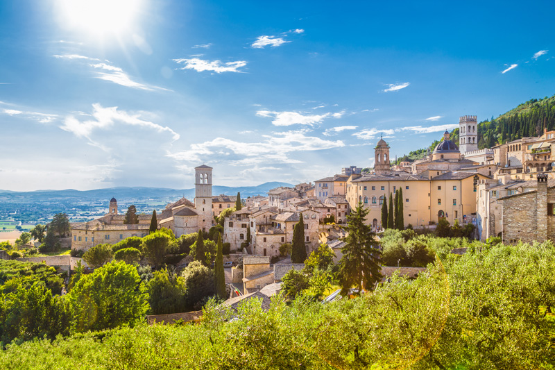 Italy's Umbria region was the first port of call for our virtual travellers. This is a great value destination when compared to Tuscany, offering all that we have come to love about this beautifully romantic country.