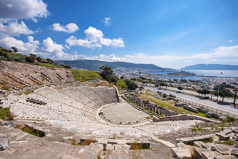Bodrum Amphitheatre may be an historic site, but it is living history, as it still stages performances on its ancient stage today.