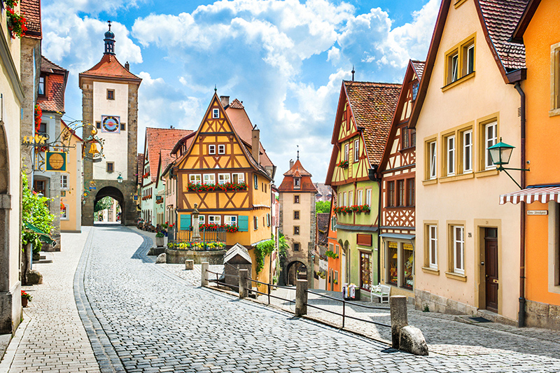 Germany is famous for beer, so if that is your tipple of choice, there's no better destination to visit. With its exceptionally pretty streets and squares, Bavaria is the perfect place to enjoy the Oktoberfest.