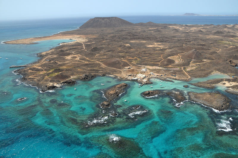 The tiny island of Lobos Island makes a great day trip if you're staying on Fuerteventura as it is just a mile off the coast.