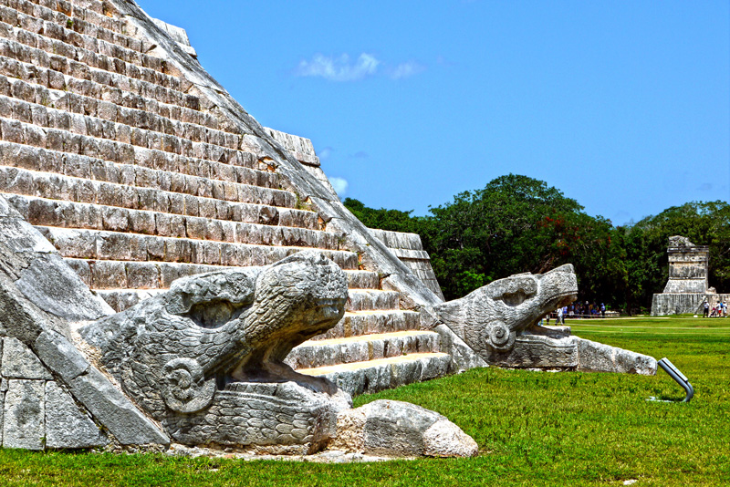 Chichén Itzá is one of the new Seven Wonders of the World, and is a real treat to witness.