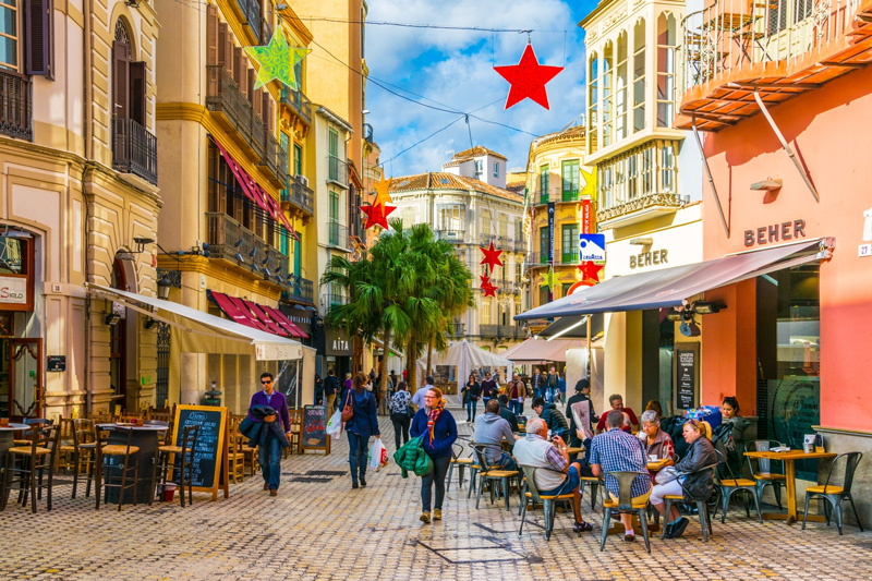 Malaga City is a great escape for those not drawn by the areas golf courses.