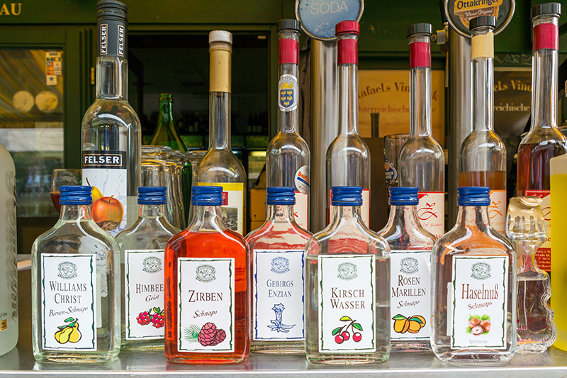 Schnapps comes in many different flavours, so there's guaranteed to one for you. Just don't go tasting every flavour in one day as they are very strong!
