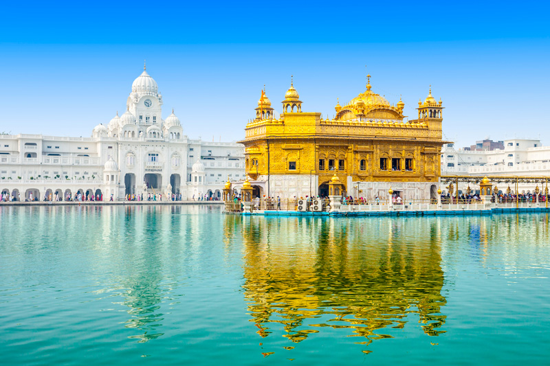 The Golden Temple of Amritsar is one of many iconic visitor attractions in India, a holiday destination which is becoming very popular among RCI members.
