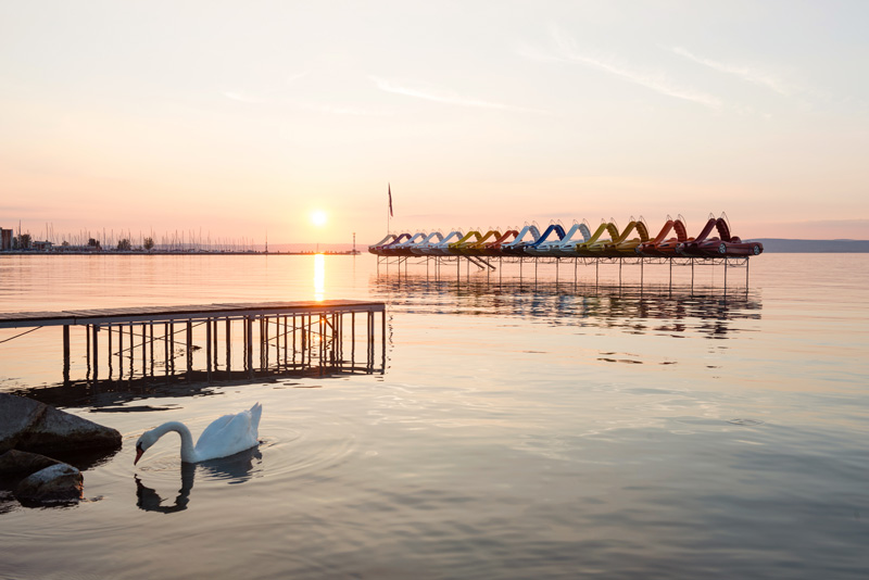 With your RCI exchange holiday, head to Hungary and spend time at the beautiful Lake Balaton.