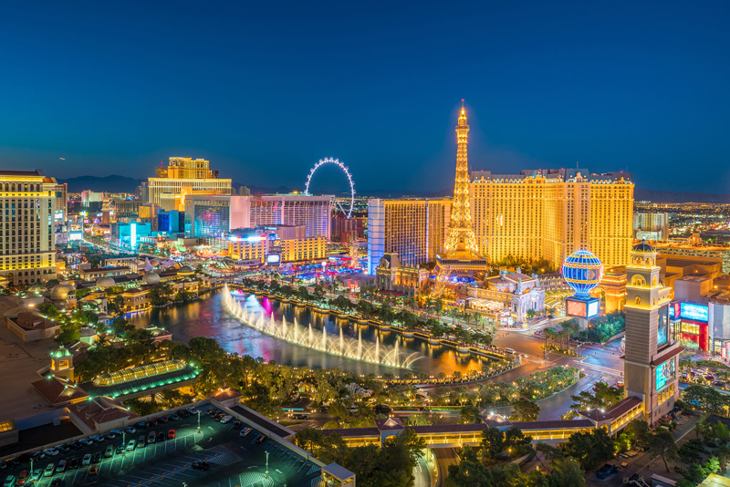 Las Vegas, in the US, is one of the stately pleasure zones of the world, and a favourite playground of RCI Points members.