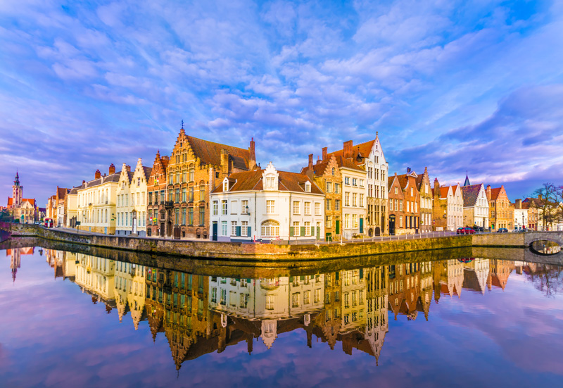 Bruge in northwest Belgium is known for its splendid medieval architecture, its pretty waterways and, now we know, by its French fries!