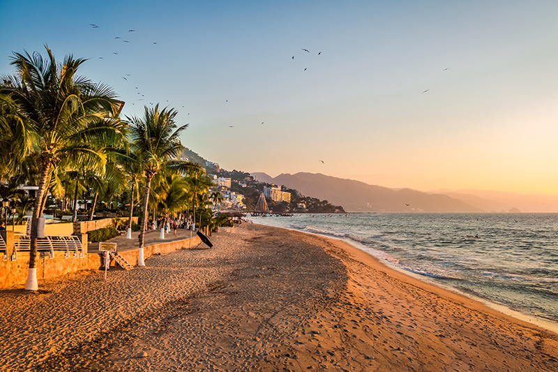 The beachy paradise of Puerto Vallarta in Mexico is fantastic for those looking to stretch out on the sand and make the most of the weather.
