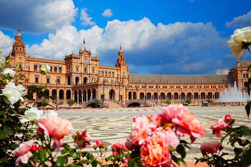 Plaza de España in Seville was the film location for Star Wars film, Attack of the Clones.
