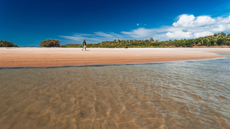 Goa's Galgibaga Beach is one of the cleanest in India, and one of the quietest, so should be on your must-visit beaches list.