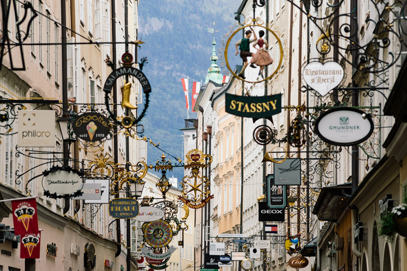 Austria's Salzburg region is famous for being the location where classic musical, The Sound of Music was filmed.
