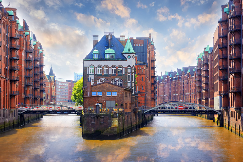 Hamburg, the true home of our hamburger, is an impressive place to visit and, perhaps, one of the best places in the world to eat a hamburger!