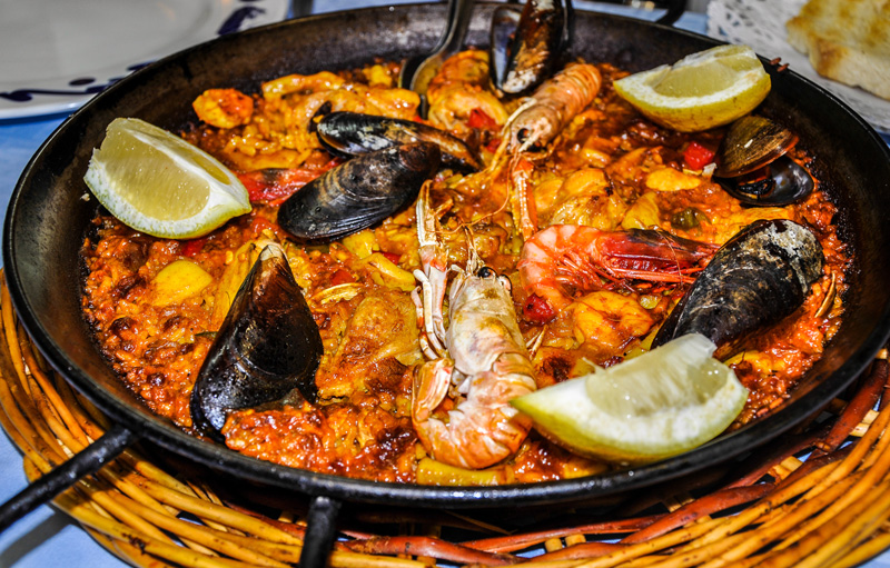Calpe seafood is a must - being fresh and traditionally cooked.