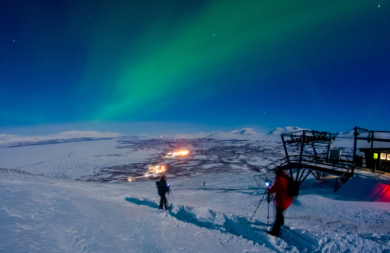 There are plenty of opportunities to get out in the vast countryside on snowmobiles or on skis, thanks to the area of the world you're most likely to see the lights.. Even if you don't get to see the illusive Northern Lights, you will still have a great time.