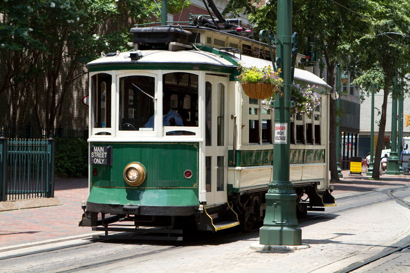 If you want to save your legs for dancing the night away, the Main Street Trolley is a cheap way to tour the city and take in the sights. Knowledgeable locals will be on hand to fill you in on all the history.