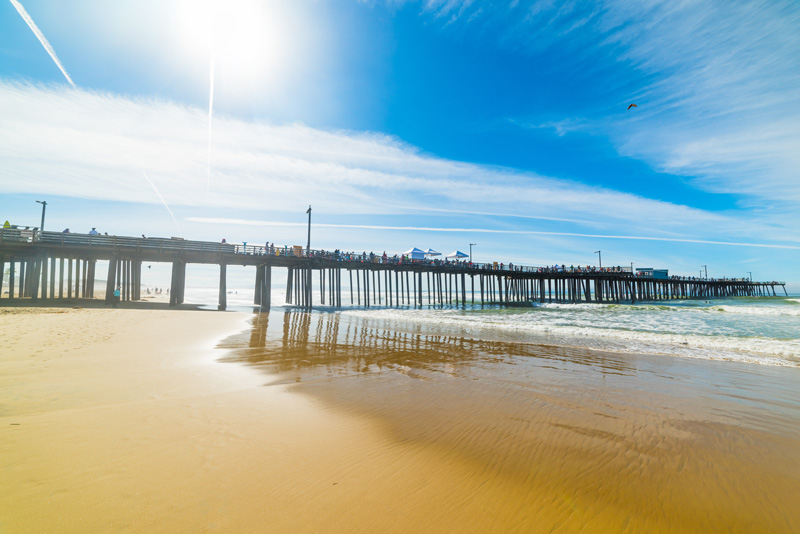 Known for it's incredible pier with unrivalled views out to the Pacific Ocean, make sure you spend a few hours relaxing on Pismo Beach. The area is also packed with things to do for the active holidaymakers - hiking, kayaking, surfing and golf - and there are plenty of wineries to visit too.