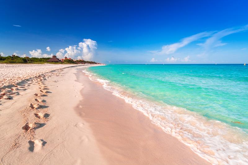 Mamitas Beach plays host to the Riviera Maya Jazz Festival every November.
