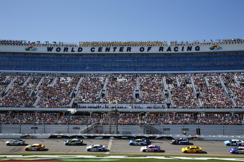 Daytona International Speedway is home to some famous motoring events, including NASCAR.