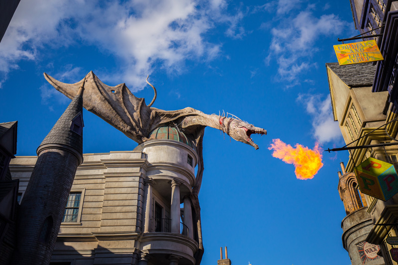 For witches, wizards and Muggles, there's no better place than The Wizarding World of Harry Potter. Buy your school robes at Madame Malkin's Robes For All Occasions, grab a butterbeer at The Three Broomsticks, and then hop on the Hogwarts Express back to school.