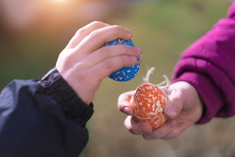 Jarping is one of those wonderful British Easter traditions that you might never heard of. It looks fun though, so give it a go!