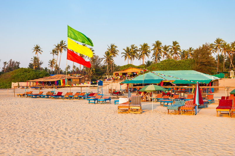 If you're looking for somewhere to get away from it all, Arambol Beach is a little paradise.