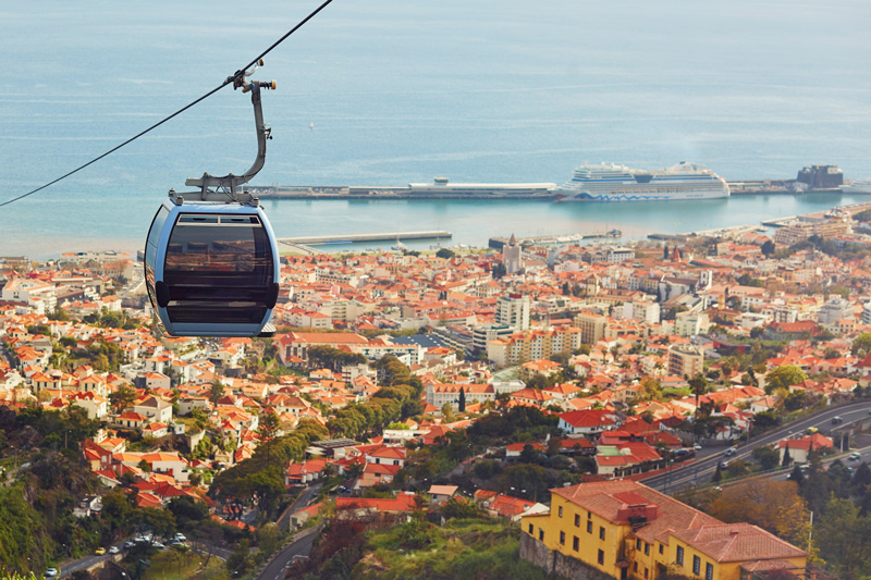 Is there ever a better way to travel around town than in a cable car? You can see for miles and appreciate the views as you go - and it's fun!