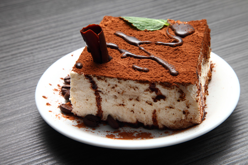 Tiramisu - a traditional Italian alipine dessert enjoyed in winter climes.