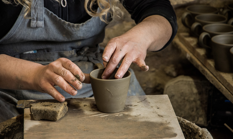 If you want to learn how to throw a pot, there are around 20 studios in the village of Margarites and plenty of helpful artists who will give you a lesson.