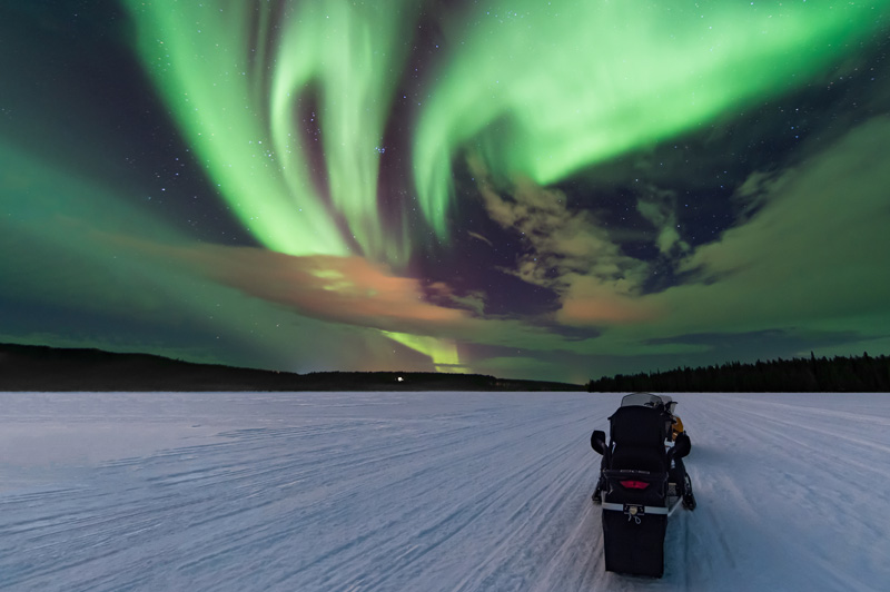 Finland - specifically Lapland -  is one of the best places in the world to see the spectacular Northern Lights.