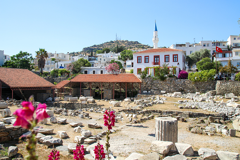 The Mausoleum of Halicarnassus is one of the Seven Wonders Of The Ancient World, and just one of many historical sites to be explored in beautiful Bodrum.