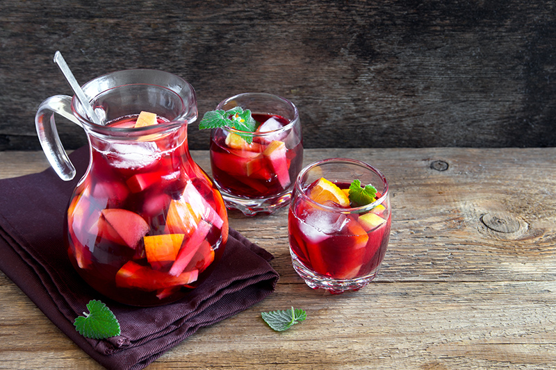 Sangria and Spain go hand in hand, so make sure you try a jugful of this fruity drink while on your Spanish travels. It helps if the drink is accommpanied by several dishes of delicious tapas.