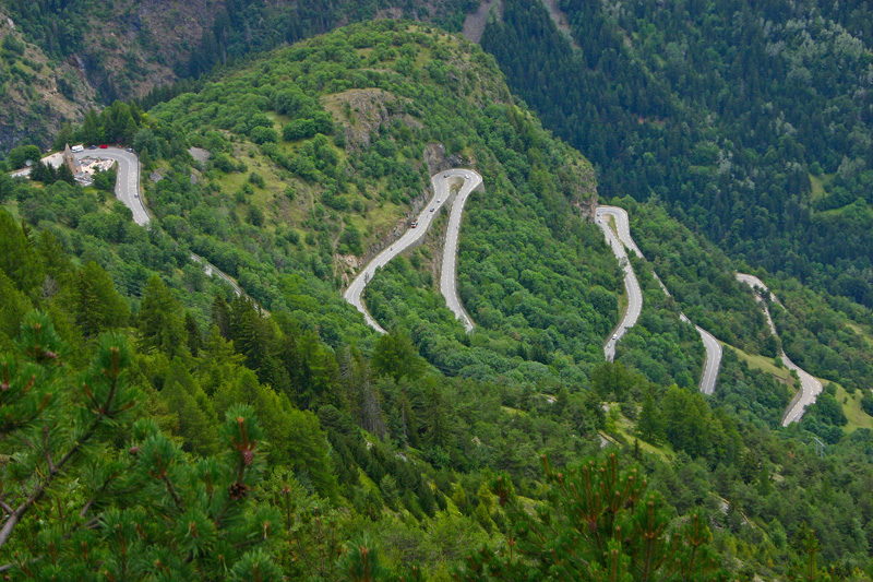 The Alpe d'Huez is known as one of the toughest stages of the Tour de France, so this is best left to the experts. The hairpin turns are enough to make anyone a little queasy, but the views are out of this world.