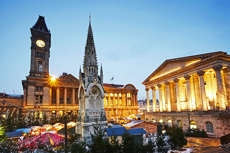 Victoria Square, Birmingham, will light up the sky and play host to all manner of treats over a six-week period this Christmas. It's a great time to branch out and explore all the city has to offer,