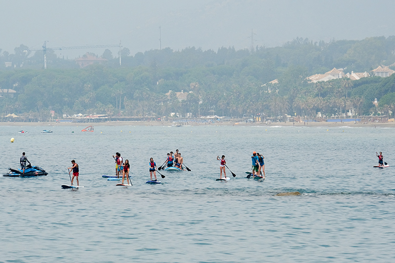 You will be spoilt for choice with the amount of water sports on offer in Marbella.