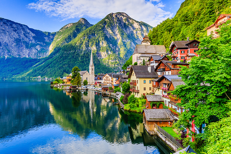 The Austrian Alps are a fantastic year-round holiday destination for those looking for a mountian retreat or an action-packed activity holiday. In the winter months, the mountains are blanketed in snow, so it's perfect for those who love to ski, and when the snow melts, hiking and cycling are popular.