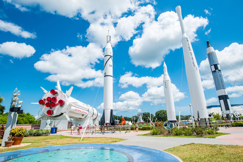 Cape Canaveral's Kennedy Space Centre in Orlando holds just as much fascination for those in the 50+ age group, as it does for the 15-year-olds. My parents didn't start visiting Orlando until after I had grown up!