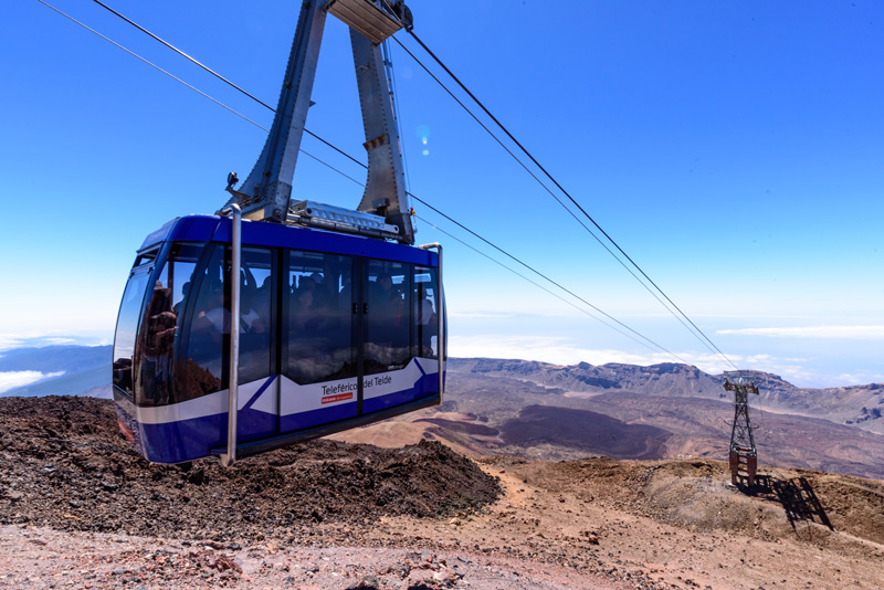 If hiking isn't for you, there is a cable car that will take you up to the top of Mount Teide in just eight minutes. The views and surrounding landscape are out of this world and you will doubtless spend some very special moments in silent contemplation of nature's wonder in a trip you will remember for a lifetime.