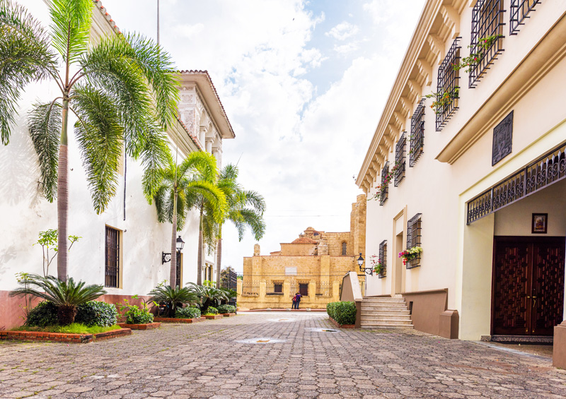 Santo Domingo's Colonial Quarter is a UNESCO World Heritage Site and it's clear to see why.