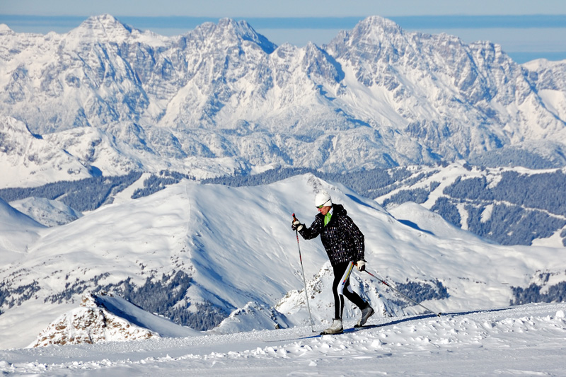 With a lengthy season, the Austrian Alps delivers. Blankets of snow, beautiful views and world-class ski slopes - what more could you want?
