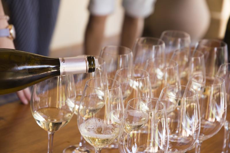 Wine tasting in Mendoza.