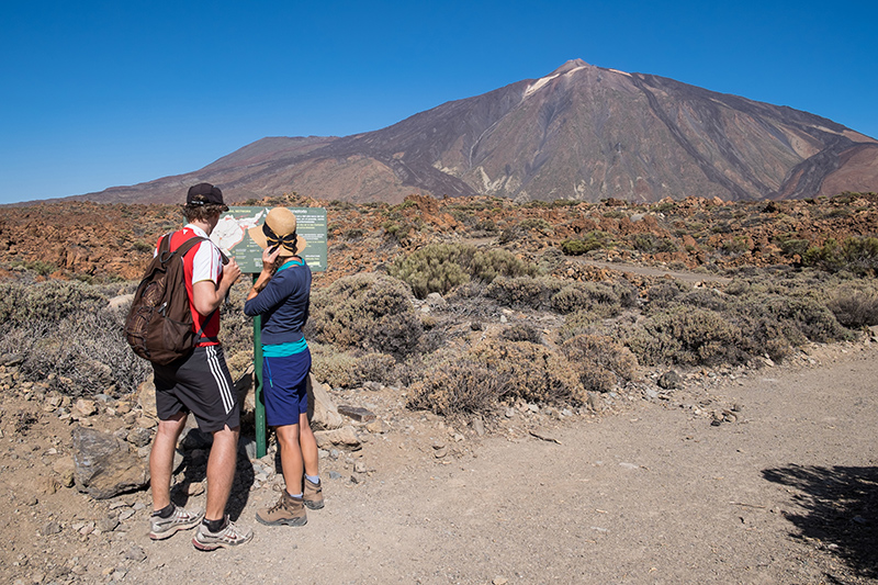 Take in the magnificent views of Mount Teide while letting the fresh air and wide open space relax you; clearing your mind of life's everyday stresses.