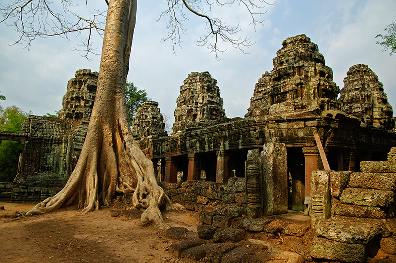 This action film is inspired by the most successful interactive video-game character in history - Lara Croft. Visit this historic UNESCO World Heritage Site, Angkor, to follow in the footsteps of Angelina Jolie who played Lara in the movie.